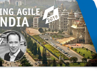 Roel de Ponti keynote speaker op de Scaling Agile India Conference, Bangalore